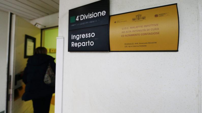 Sospetto Coronavirus a Reggio Calabria, l'esito dei test tra 24 ore, la paziente non ha febbre