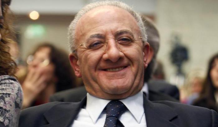De Luca: bellissime risposte social a Salvini