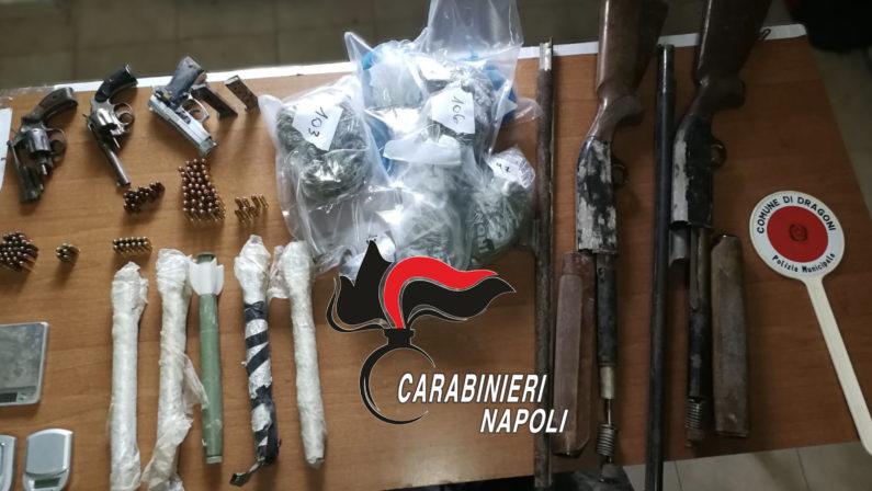 Sequestrato arsenale, tra le armi anche razzi jugoslavi da guerra