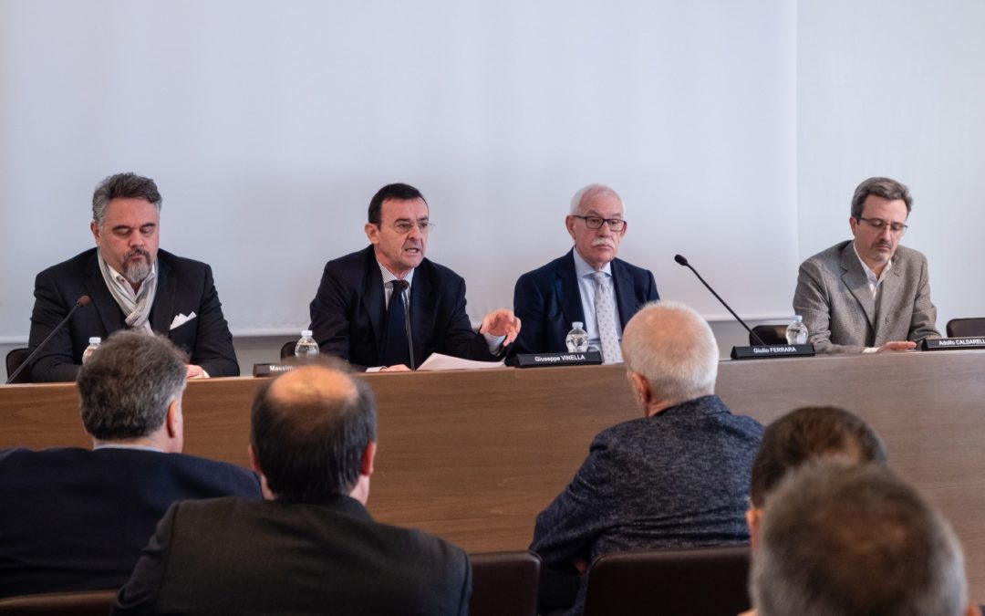 Giulio Ferrara, Giuseppe Vinella e Adolfo Caldarelli