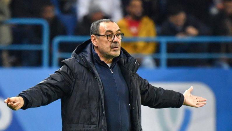 Ufficiale, la Juventus esonera Maurizio Sarri