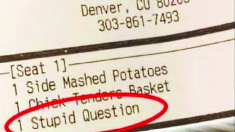 """Domandare è lecito... fino a un certo punto Le domande """"stupide"""" diventano a pagamento?"""