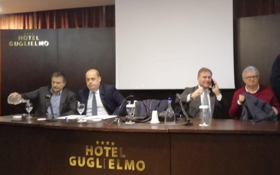 Zingaretti a Catanzaro: «In Calabria ora bisogna aprire una fase nuova»