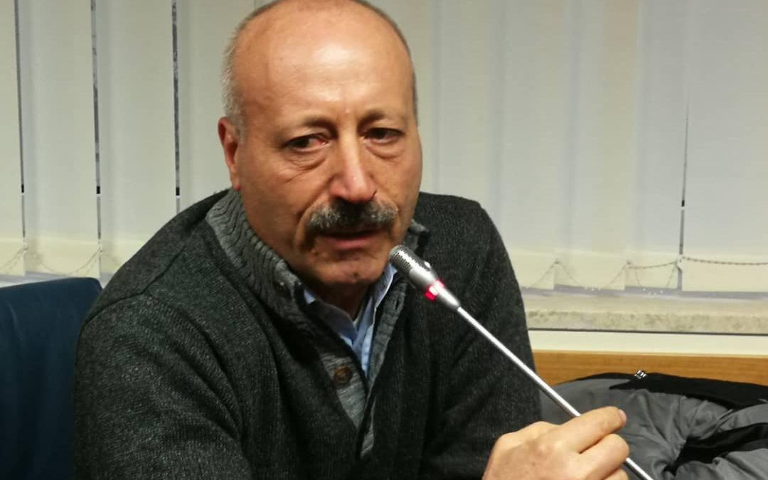 Il primo cittadino di Cersosimo Armando Loprete