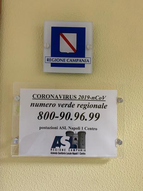 Coronavirus: Campania istituisce numero verde informativo