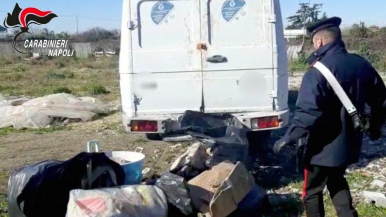 Incendia rifiuti di ogni genere in aperta campagna, 52enne agli arresti domiciliari