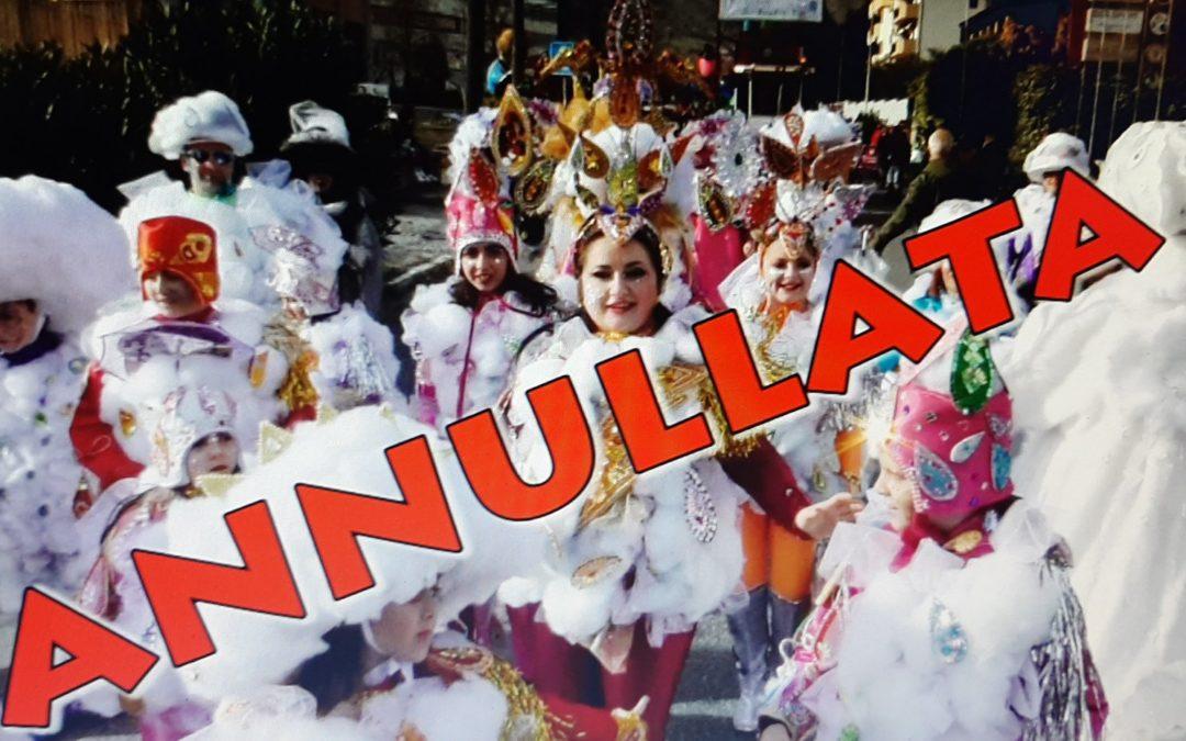 Coronavirus, annullata la storica sfilata di Carnevale a Castrovillari