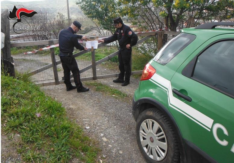 Abusivismo e gestione illecita di rifiuti su un terreno della Curia, una denuncia a Catanzaro