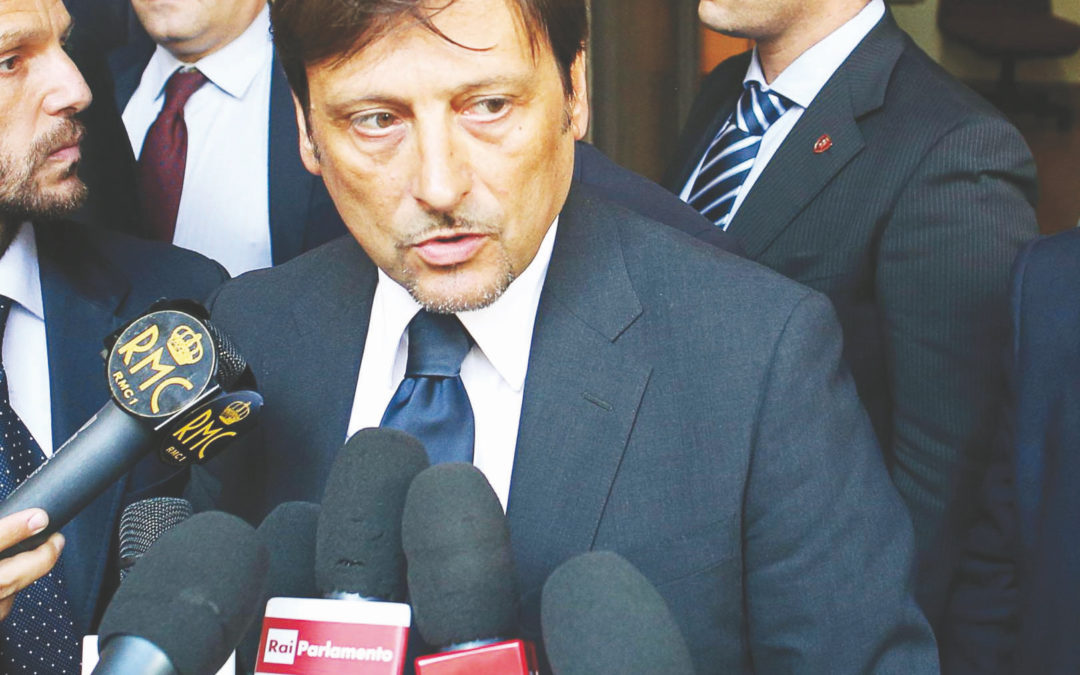 Il commissario regionale del Partito Democratico Dario Stefano