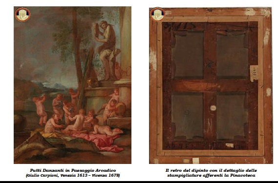 Restituita all'Accademia di Belle Arti un'opera del pittore veneziano Giulio Carpioni, rubato nel '75