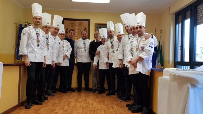 Il Comune di Aiello premia gli chef del Culinary Team Avellino