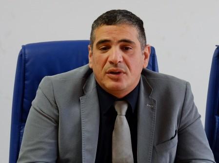 Il consigliere regionale del M5S Gianni Perrino