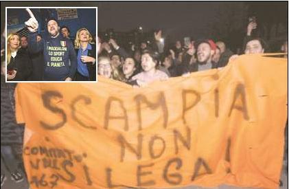 Napoli, duello Salvini-Sardine. Sartori parla della crisi industriale e attacca: non ci fidiamo della Lega