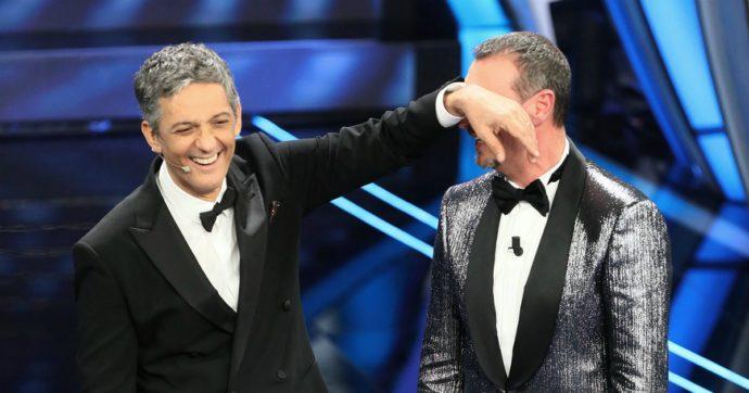 Festival di Sanremo, show di Fiorello in conferenza stampa. Boom di ascolti per la prima serata - CON VIDEO