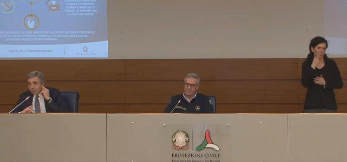 Il bollettino della Protezione civile, Borrelli: «Oggi 525 vittime, il numero più basso dal 19 marzo»