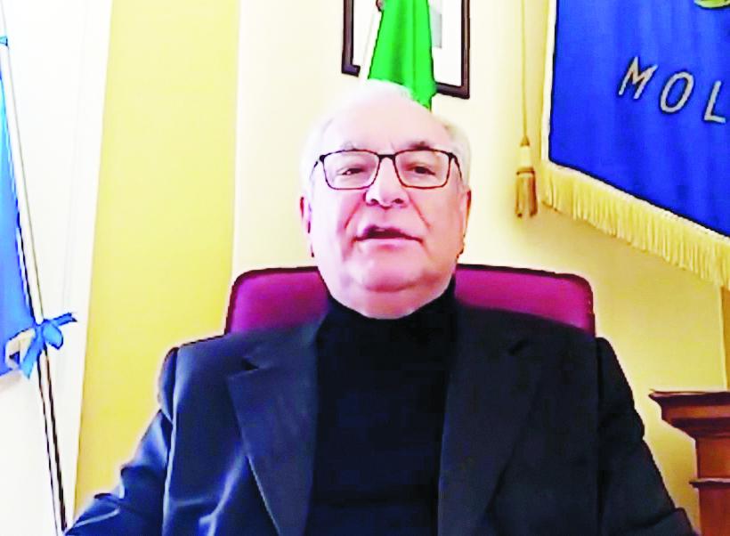 Il sindaco di Moliterno, Giuseppe Tancredi