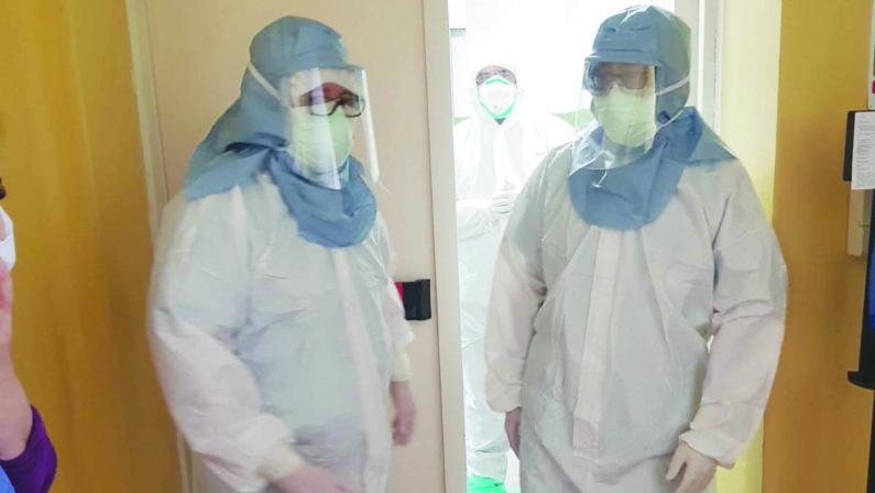 Interviste dal fronte: «Quel senso di angoscia che ti assale se un infermiere scompare dalla bacheca»