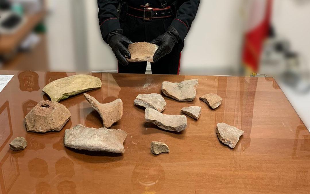 Pompei, ruba alcuni frammenti antichi dal parco archeologico. 25enne arrestato