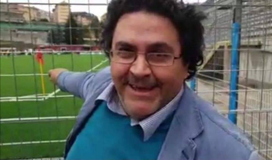 Palmiro Parisi aveva 58 anni: qui è al Viviani. Anche il Potenza Calcio, di cui era tifosissimo, lo ha ricordato con affetto