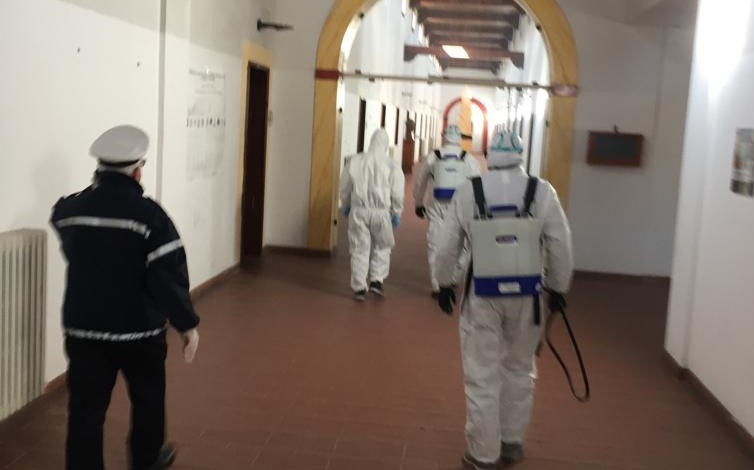 Coronavirus, a Soriano il sindaco dispone la sanificazione degli ambienti pubblici
