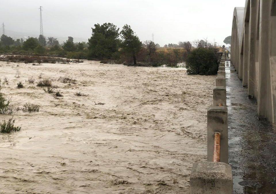 L'ingrossamento del fiume Saraceno
