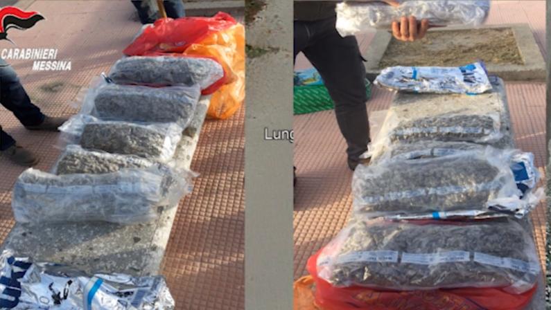 'Ndrangheta: consegne a domicilio da Africo a Messina di cocaina e marijuana, 19 arresti – VIDEO