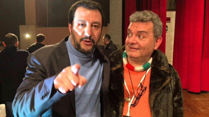 Salvini a Catanzaro: «Aver chiuso le discoteche ha creato il casino»