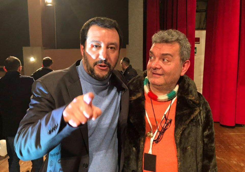 Matteo Salvini e Nino Spirlì
