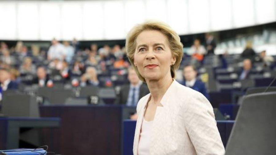 La presidente Ursula Von Der Leyen