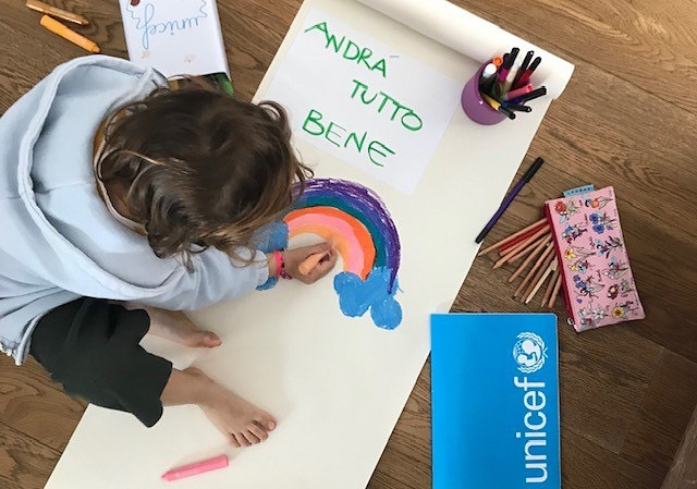 Il coronavirus spiegato ai nostri figli, i consigli di Unicef Italia