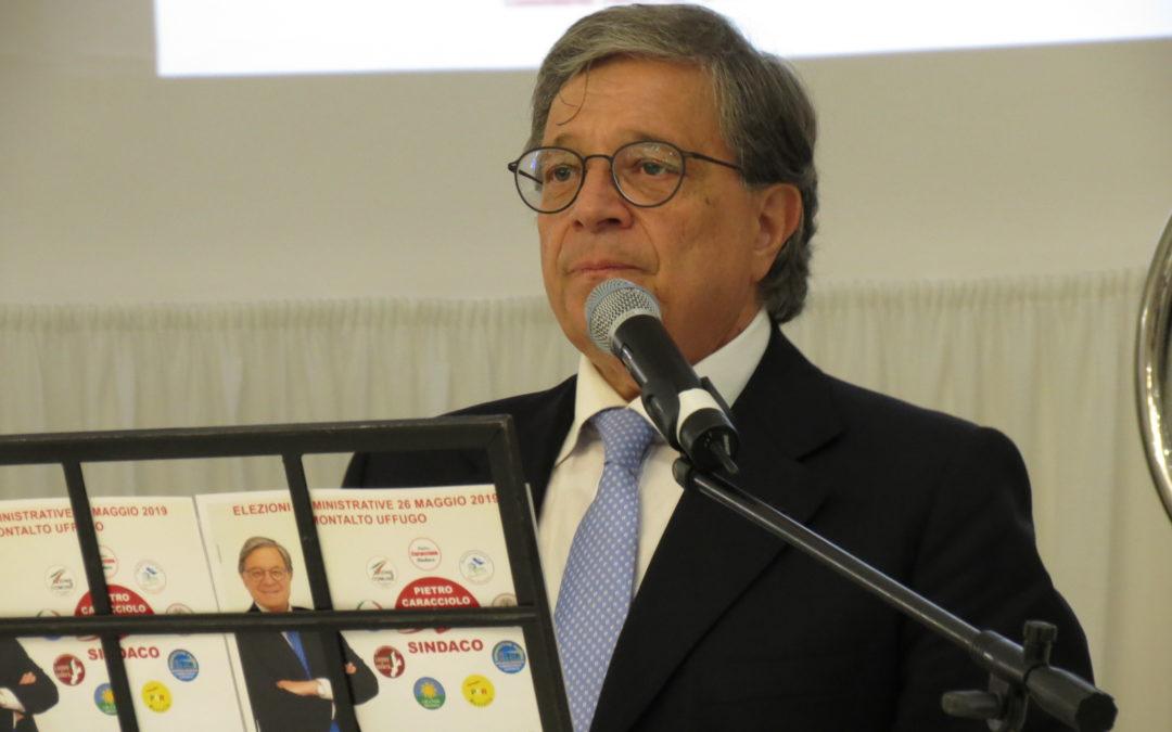 Pietro Caracciolo, sindaco di Montalto Uffugo