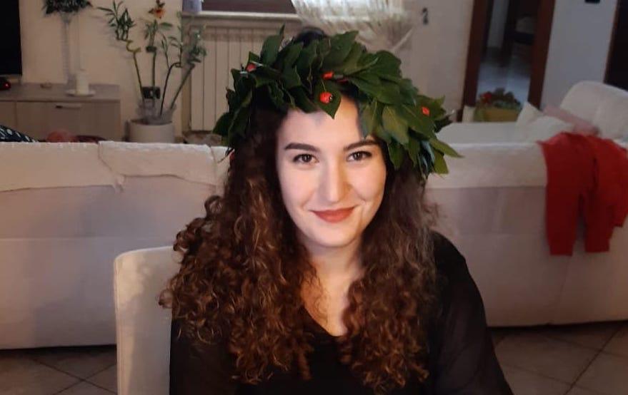 Coronavirus, Michela si laurea in videoconferenza dalla sua casa di Dasà