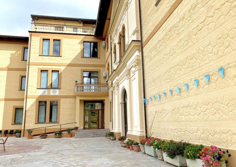 La casa di cura Domus Aurea a Chiaravalle Centrale