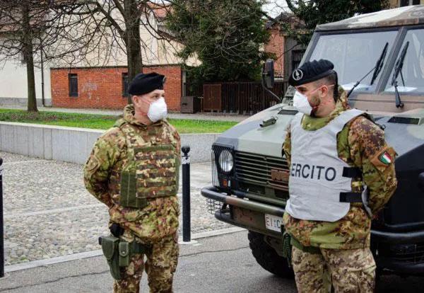 Covid-19: E' coprifuoco, arriva l'Esercito