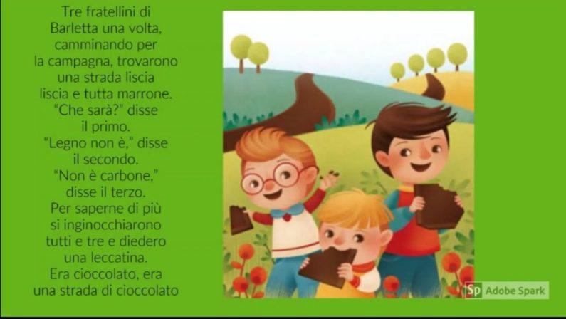 Scuola e Coronavirus: i video dei liceali di Sersale con le favole di Gianni Rodari destinate ai bambini