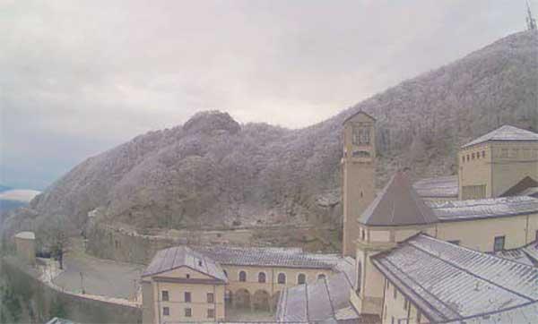Maltempo, Irpinia sotto la neve