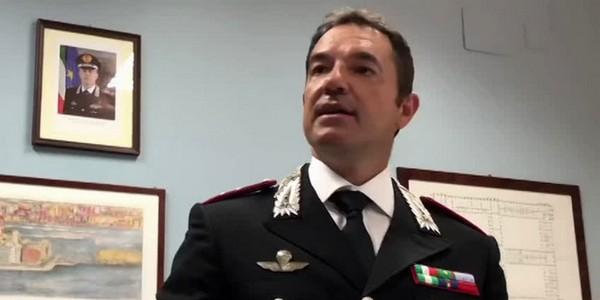 Carabinieri: Mirante lascia reparto operativo Caserta
