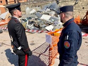 Pomigliano d'Arco: sicurezza ambientale, carabinieri sequestrano area di 350 mq e denunciano un 41enne