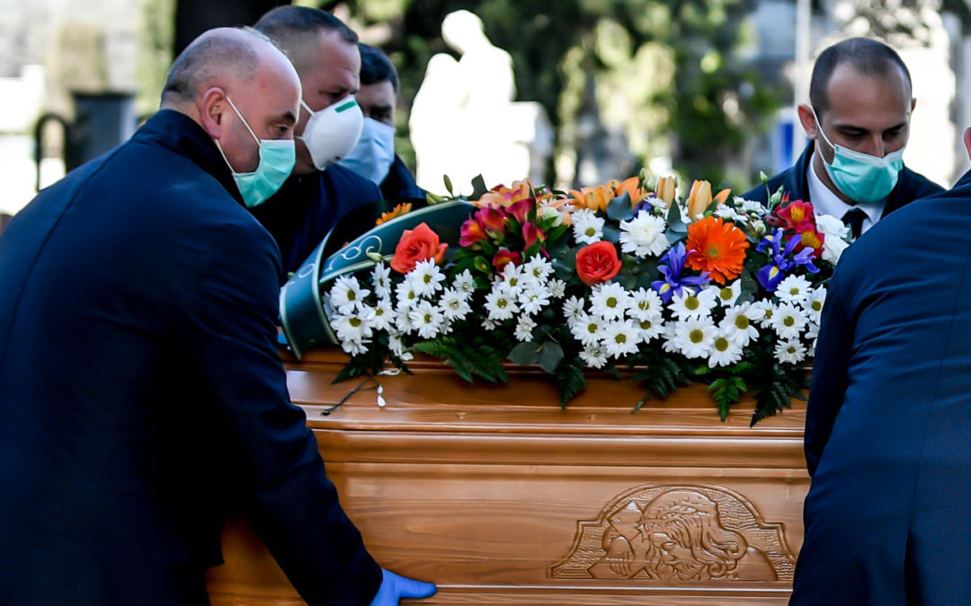 Coronavirus, tamponi negativi per i dipendenti dell'impresa funebre in quarantena a Lamezia Terme