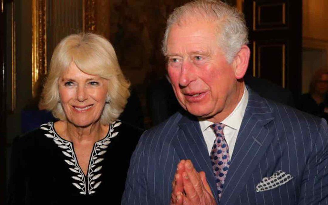 Il principe Carlo con Camilla