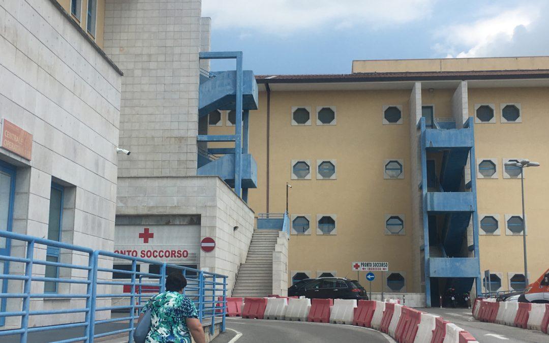 Covid, incubo all'ospedale Moscati di Avellino