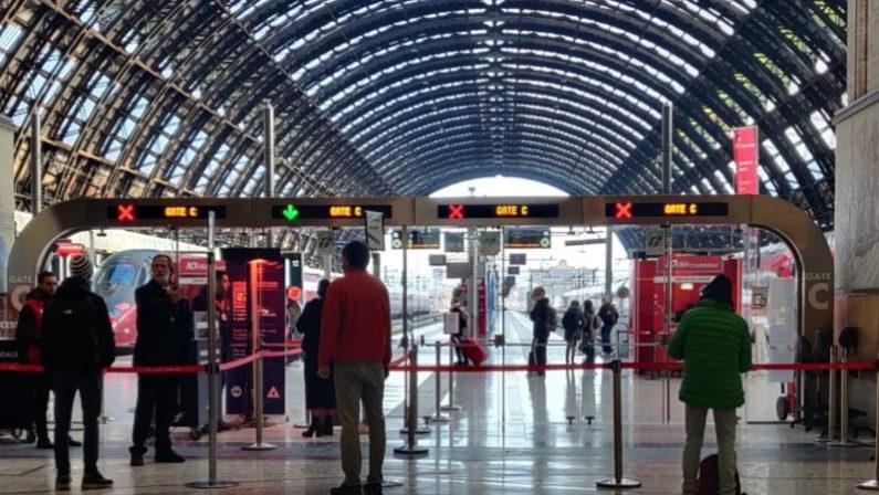Ferrovie: guasto sulla linea elettrica a Milano, treno per Reggio Calabria con ritardo record