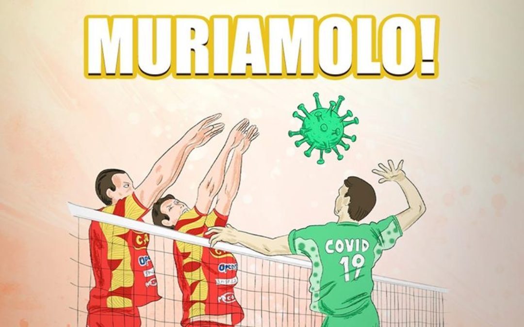 Muriamolo! Iniziativa della Tonno Callipo per sensibilizzare a restare a casa per combattere il coronavirus