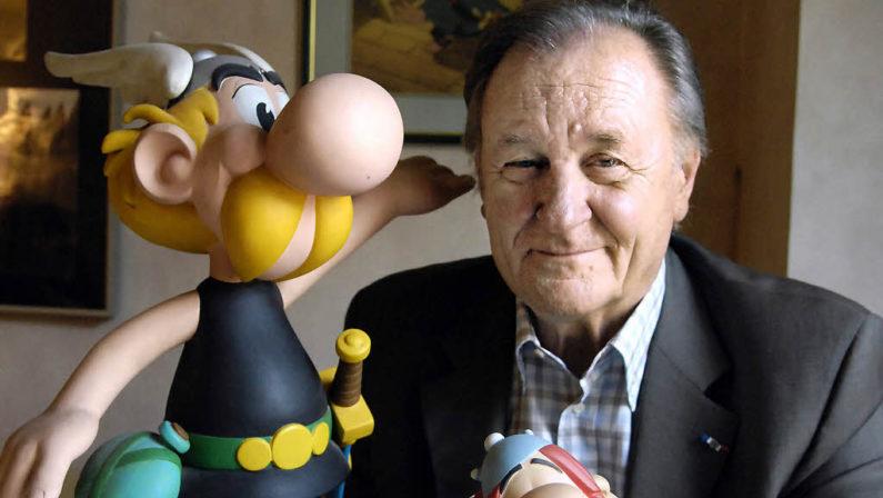 Il lutto di Asterix e la lacrima di Falbalà