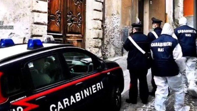 Coronavirus: nuovi controlli dei carabinieri nelle case di riposo della Locride, in una troppi degenti