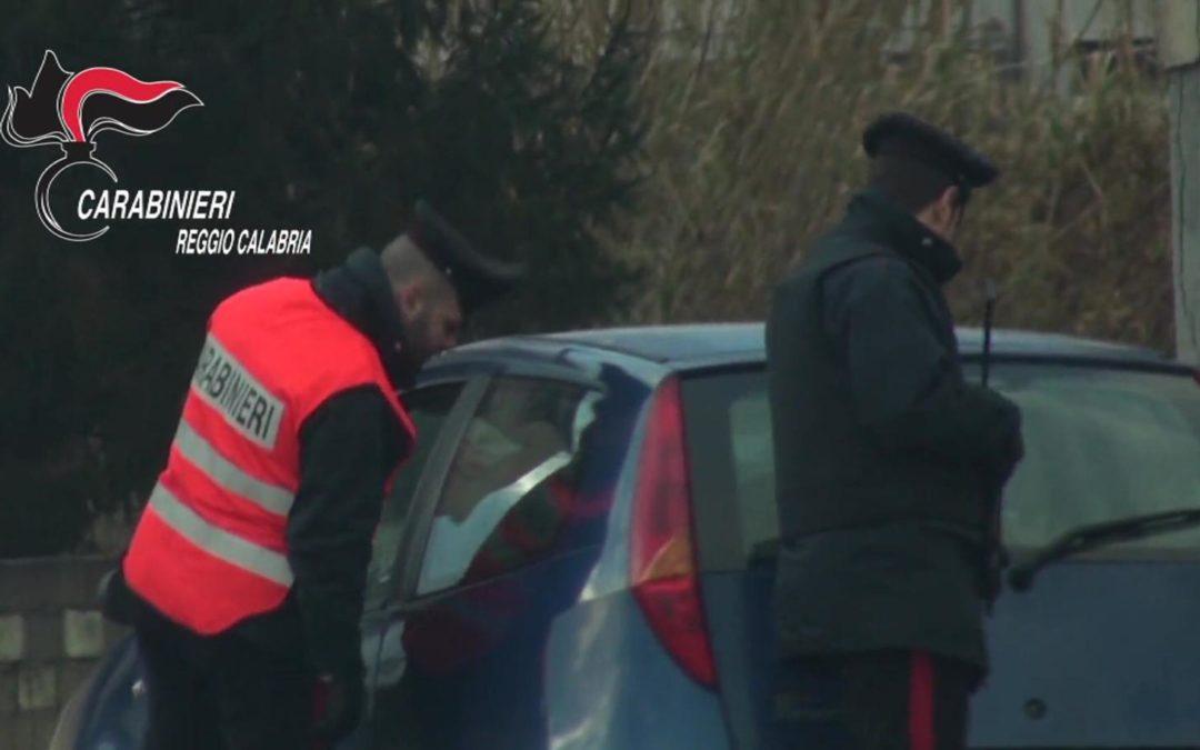 I controlli dei carabinieri nel Reggino