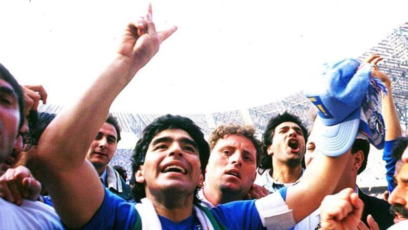 Trenta anni fa l'ultimo scudetto del Napoli nel segno di Diego Armando Maradona