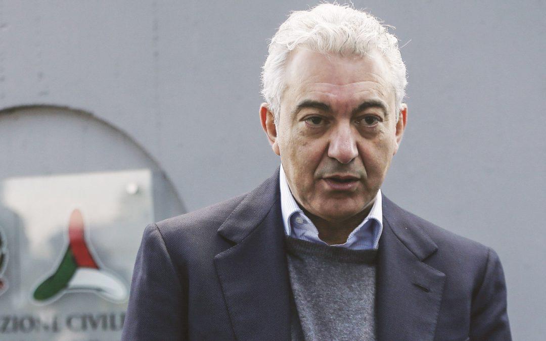 Domenico Arcuri, al centro delle critiche
