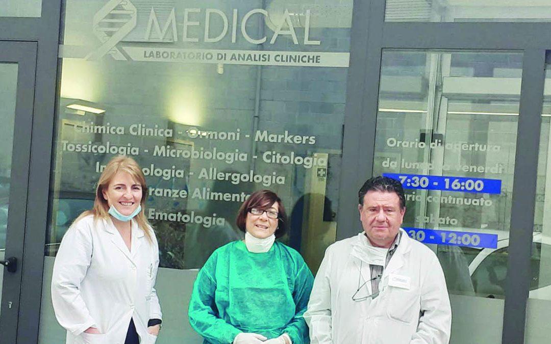 Laboratori privati verso la riapertura Al Medical di Cosenza pronti i test sierologici