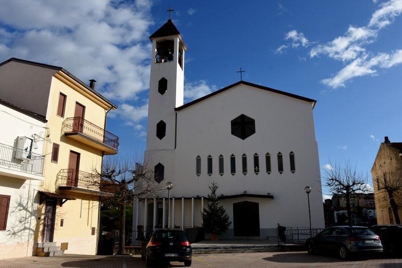 La parrocchia San Francesco d'Assisi di San Giorgio Lucano